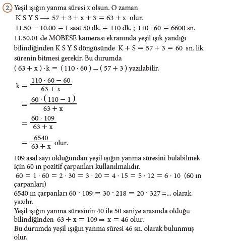 9. Sınıf Matematik Beceri Temelli Etkinlik Kitabı Cevapları Sayfa 100 Cevabı