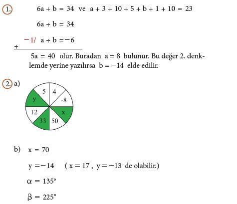 9. Sınıf Matematik Beceri Temelli Etkinlik Kitabı Cevapları Sayfa 121 Cevabı