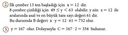 9. Sınıf Matematik Beceri Temelli Etkinlik Kitabı Cevapları Sayfa 132 Cevabı