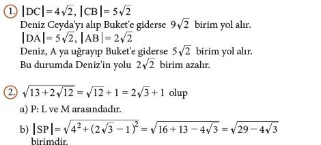 9. Sınıf Matematik Beceri Temelli Etkinlik Kitabı Cevapları Sayfa 133 Cevabı