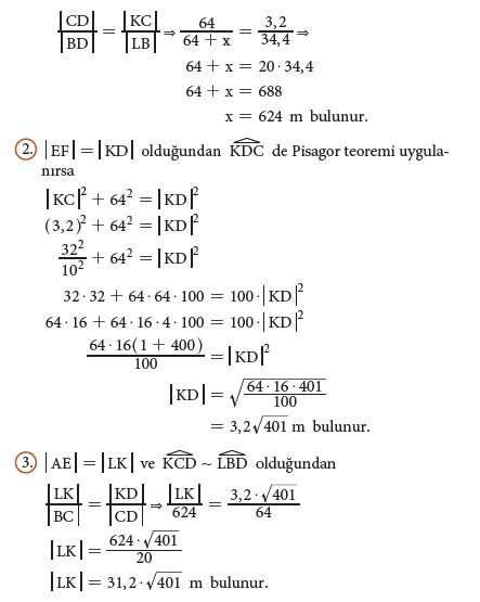 9. Sınıf Matematik Beceri Temelli Etkinlik Kitabı Cevapları Sayfa 182 Cevabı