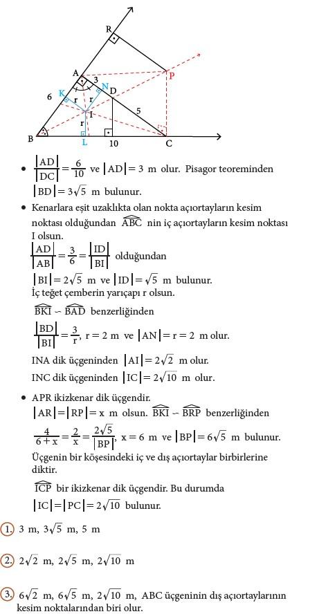 9. Sınıf Matematik Beceri Temelli Etkinlik Kitabı Cevapları Sayfa 188 Cevabı