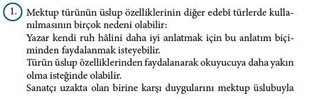 9. Sınıf Türk Dili Ve Edebiyatı Beceri Temelli Etkinlik Kitabı Cevapları Sayfa 432 Cevabı