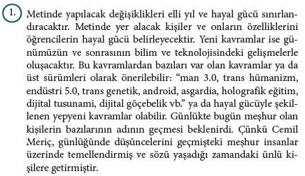 9. Sınıf Türk Dili Ve Edebiyatı Beceri Temelli Etkinlik Kitabı Cevapları Sayfa 443 Cevabı