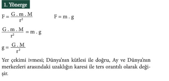 12. Sınıf Fizik Beceri Temelli Etkinlik Kitabı Sayfa 64 Cevabı