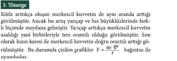 12. Sınıf Fizik Beceri Temelli Etkinlik Kitabı Sayfa 9 Cevabı