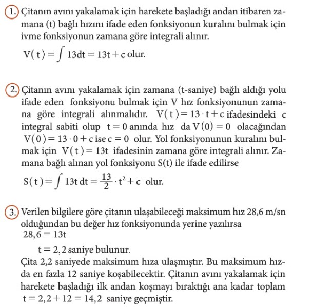 12. Sınıf Matematik Beceri Temelli Etkinlik Kitabı Sayfa 103 Cevabı