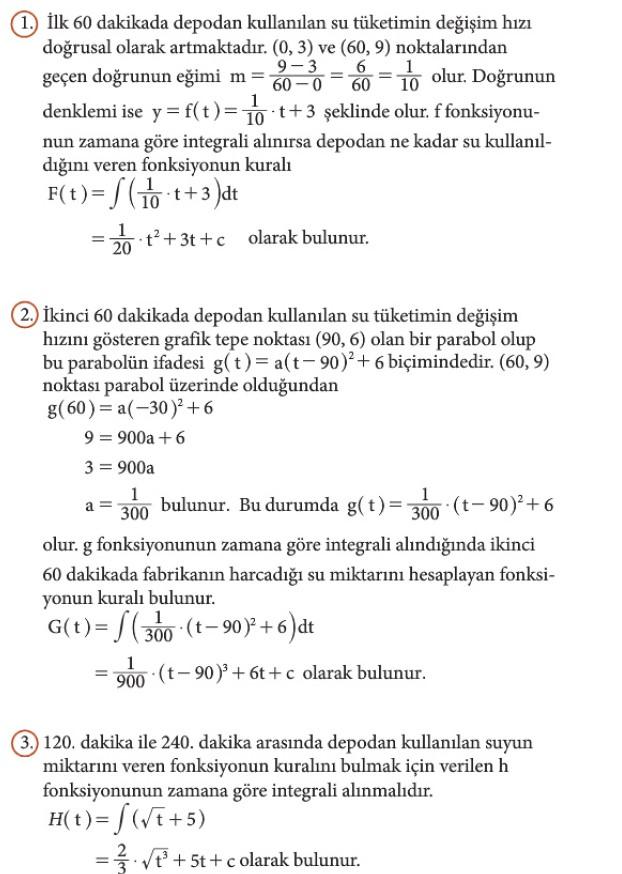 12. Sınıf Matematik Beceri Temelli Etkinlik Kitabı Sayfa 104 Cevabı