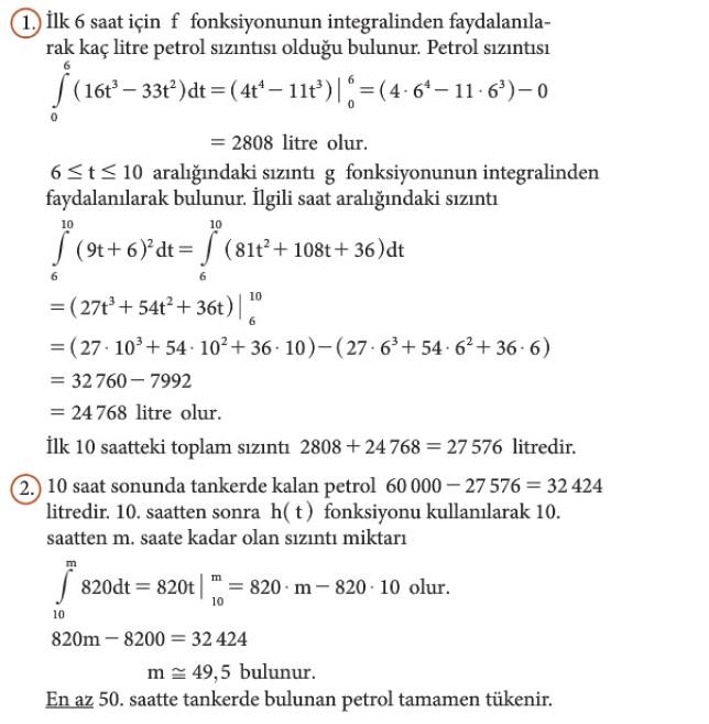 12. Sınıf Matematik Beceri Temelli Etkinlik Kitabı Sayfa 116 Cevabı