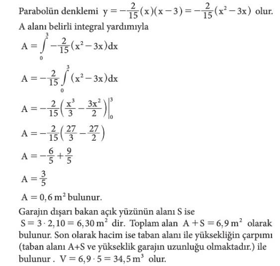 12. Sınıf Matematik Beceri Temelli Etkinlik Kitabı Sayfa 119 Cevabı