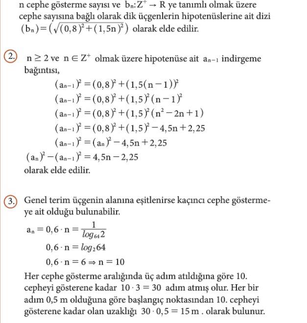 12. Sınıf Matematik Beceri Temelli Etkinlik Kitabı Sayfa 31 Cevabı