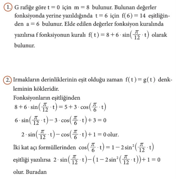 12. Sınıf Matematik Beceri Temelli Etkinlik Kitabı Sayfa 46 Cevabı