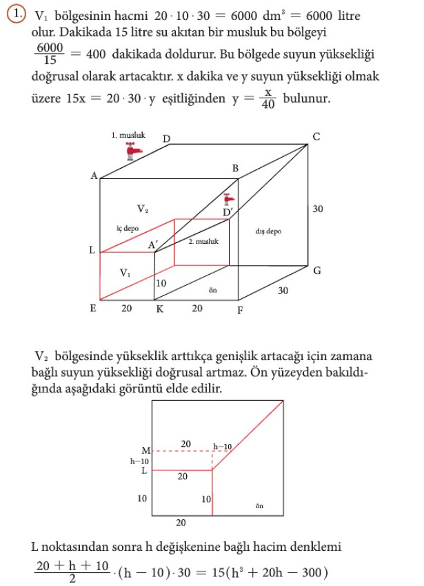 12. Sınıf Matematik Beceri Temelli Etkinlik Kitabı Sayfa 74 Cevabı