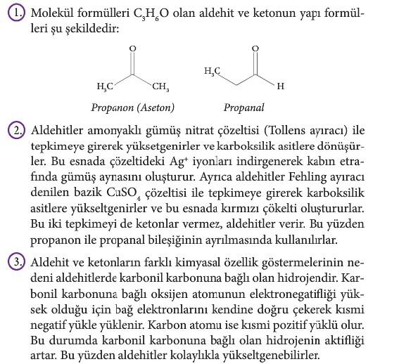 12. Sınıf Kimya Beceri Temelli Etkinlik Kitabı Sayfa 108 Cevabı